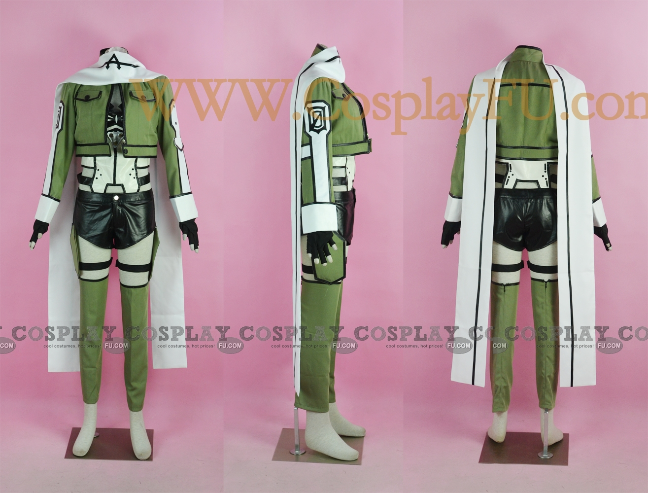 Sinon Cosplay Costume (Gun Gale Online) from Sword Art Online