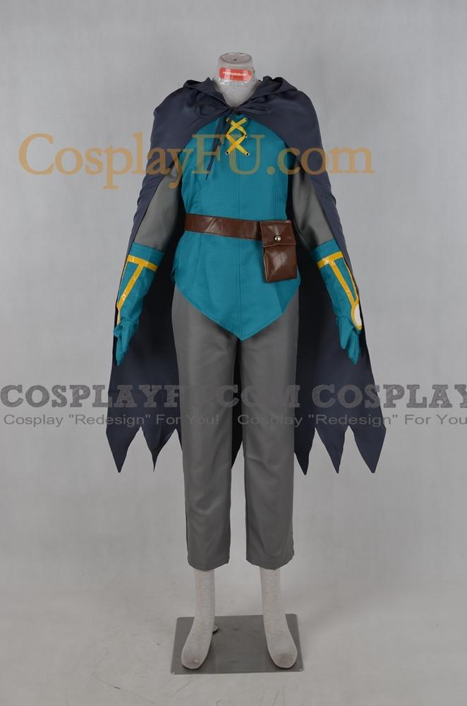 Sir Aaron Cosplay Costume from Pokemon
