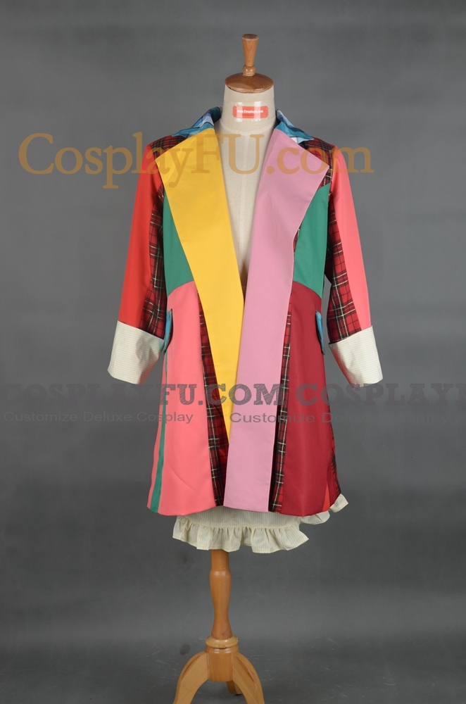 Sixth Doctor Cosplay Costume (Female) from Doctor Who