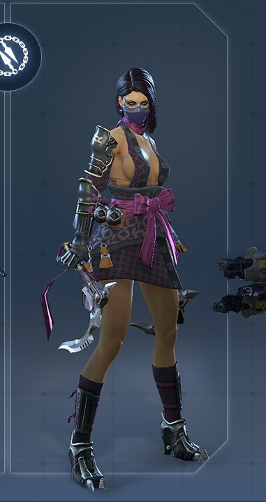 Slayer Female Cosplay Costume from Skyforge