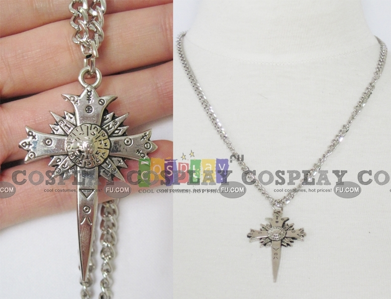 D Gray Man Cross (Necklace) from D Gray Man