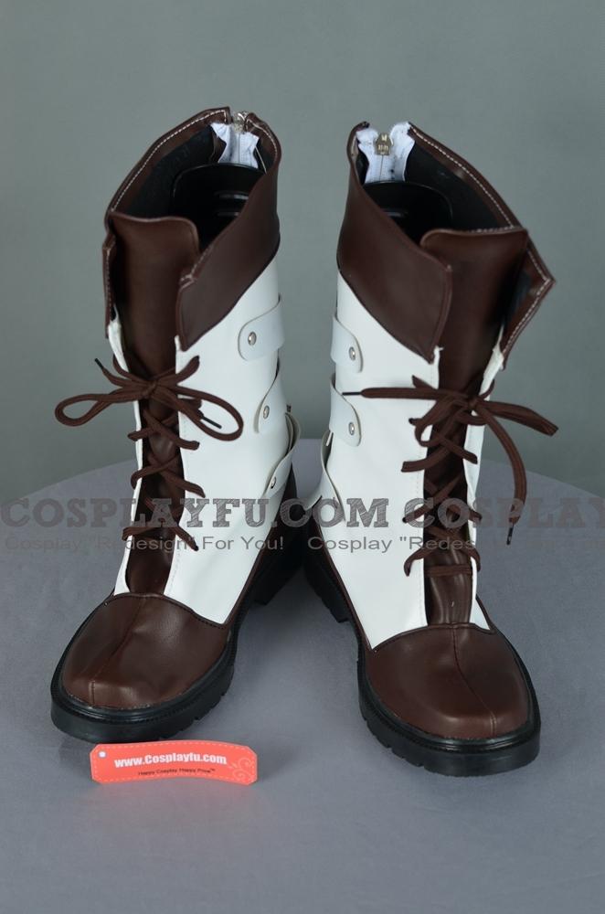 Fainaru Fantajī Sātīn Snow Villiers chaussures