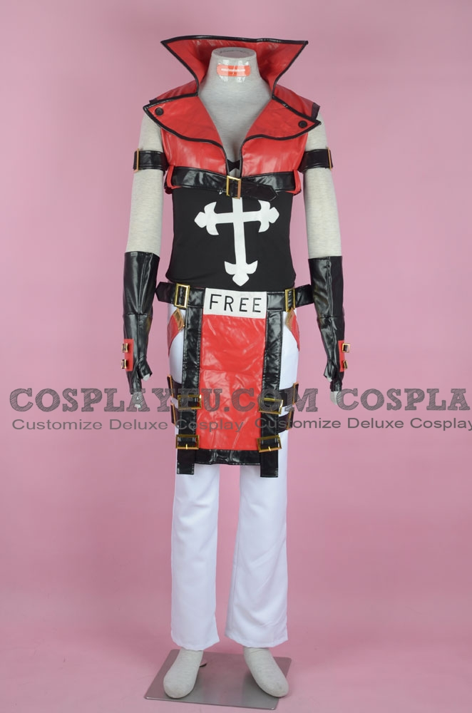 Sol Cosplay Costume from Guilty Gear