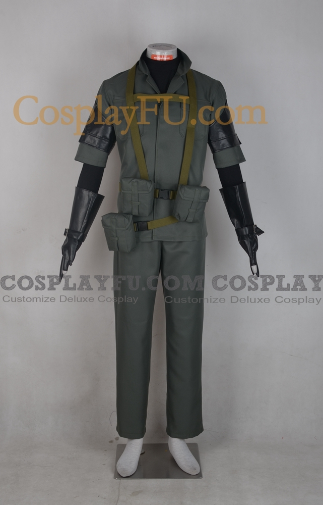 Solid Cosplay Costume from Metal Gear Solid
