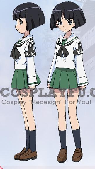 Sono Cosplay Costume from Girls und Panzer