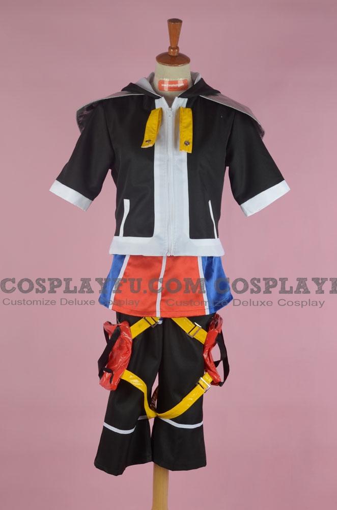 Sora Cosplay Costume from Kingdom Hearts