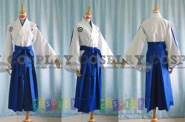 Bleach Renji Abarai Costume (Soul Reaper Academy Boy Uniform)