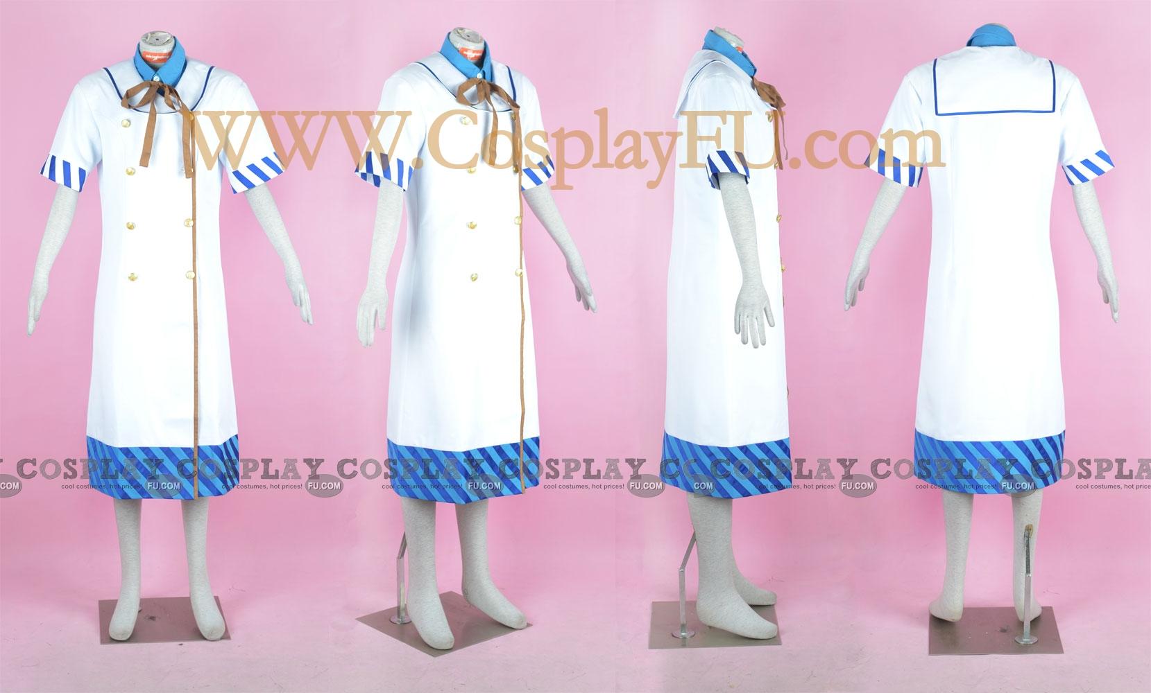 Hikari Cosplay Costume (Spica Summer Uniform) from Strawberry Panic