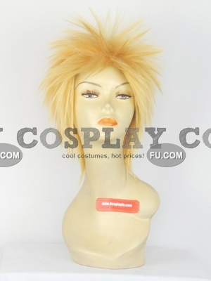 Spike Wig (Blonde,Short,Uzumaki)