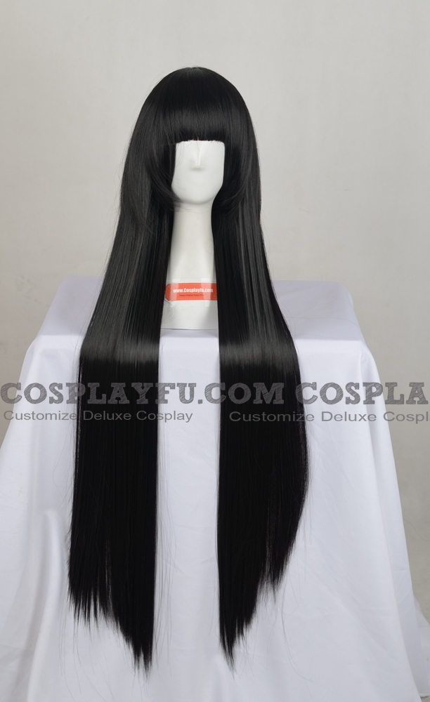 Sunako Cosplay Costume Wig from The Wallflower