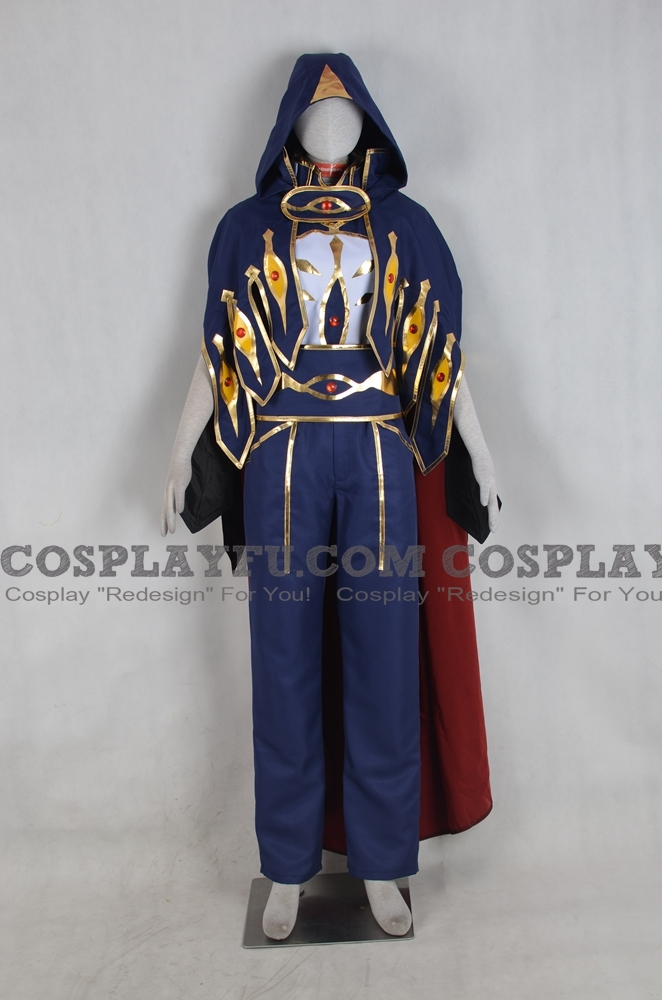 Suzaku Cosplay Costume (Knight of Zero) from Code Geass