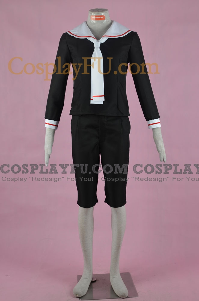 Syaoran Cosplay Costume (School Boy Uniform) from Cardcaptor Sakura