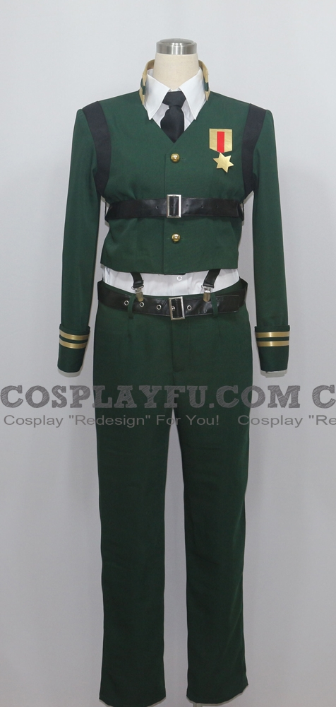 Takeru Cosplay Costume from AntiMagic Academy