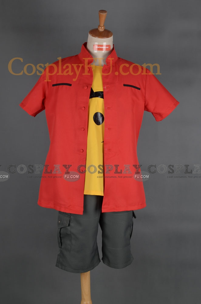 Takuya Cosplay Costume from Digimon Adventure