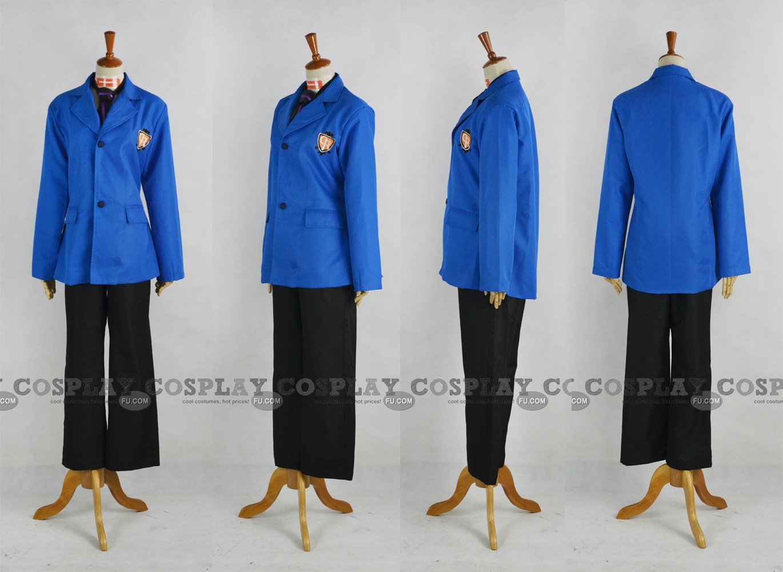 Tamaki Cosplay Costume (Ouran High School Boy Uniform,Stock) from Ouran High School Host Club
