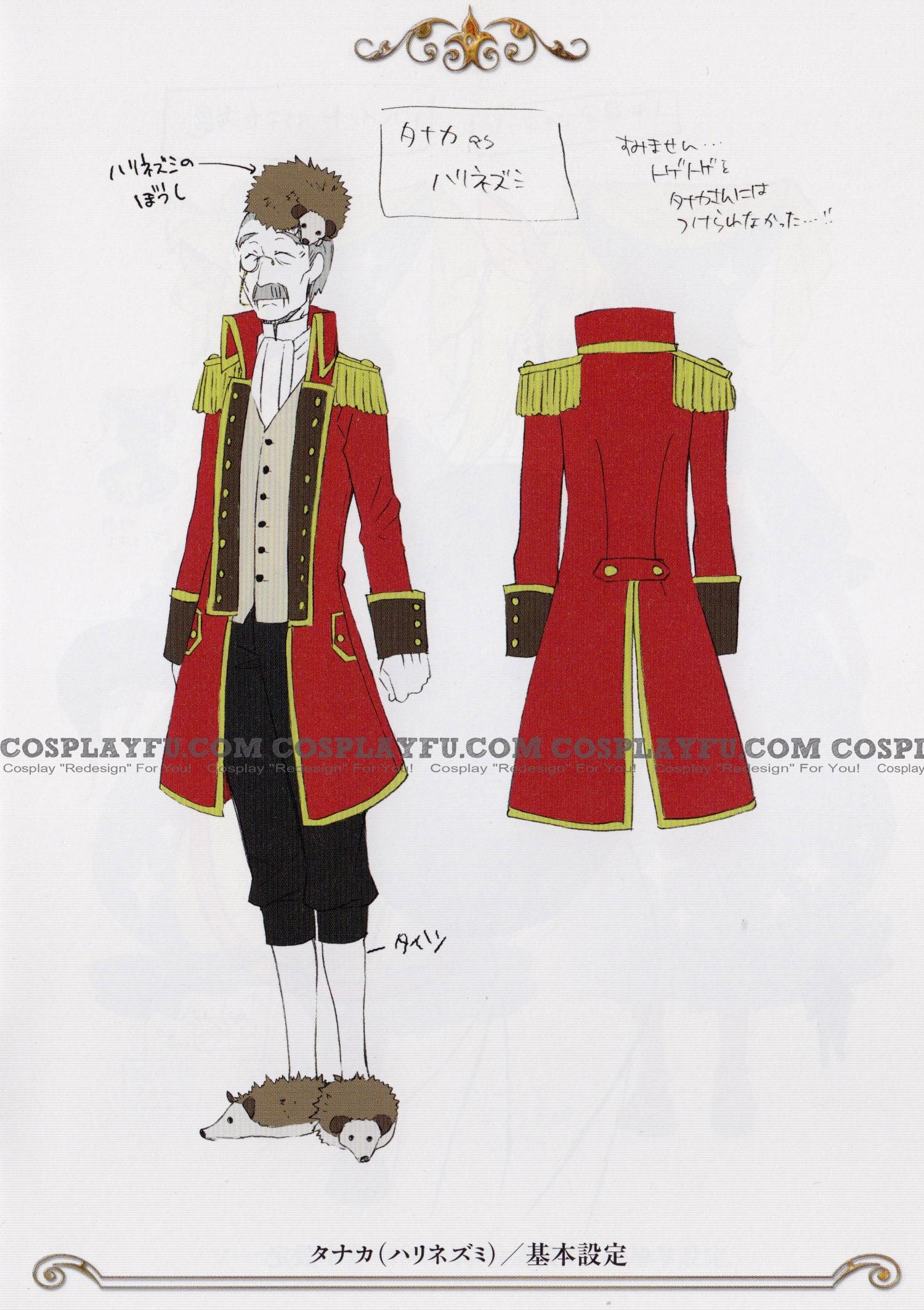 Black Butler Tanaka Costume (Wonderland)