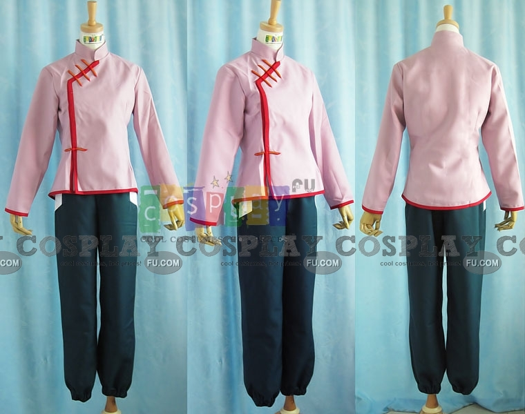 Tenten Cosplay Costume from Naruto Shippuuden