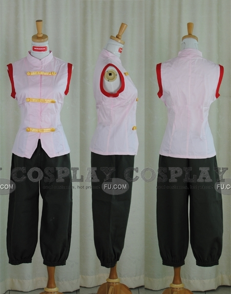 Tenten Cosplay Costume from Naruto