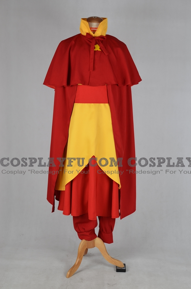Tenzin Cosplay Costume from The Legend of Korra