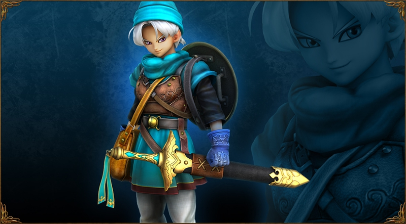 Terry Cosplay Costume from Dragon Quest Heroes