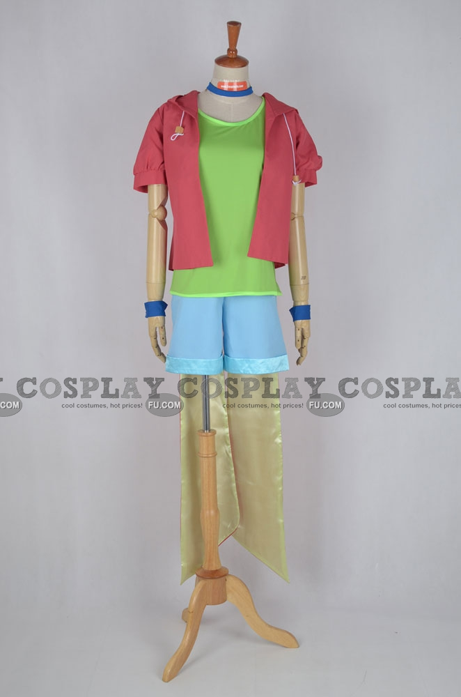 Tet Cosplay Costume from No Game No Life