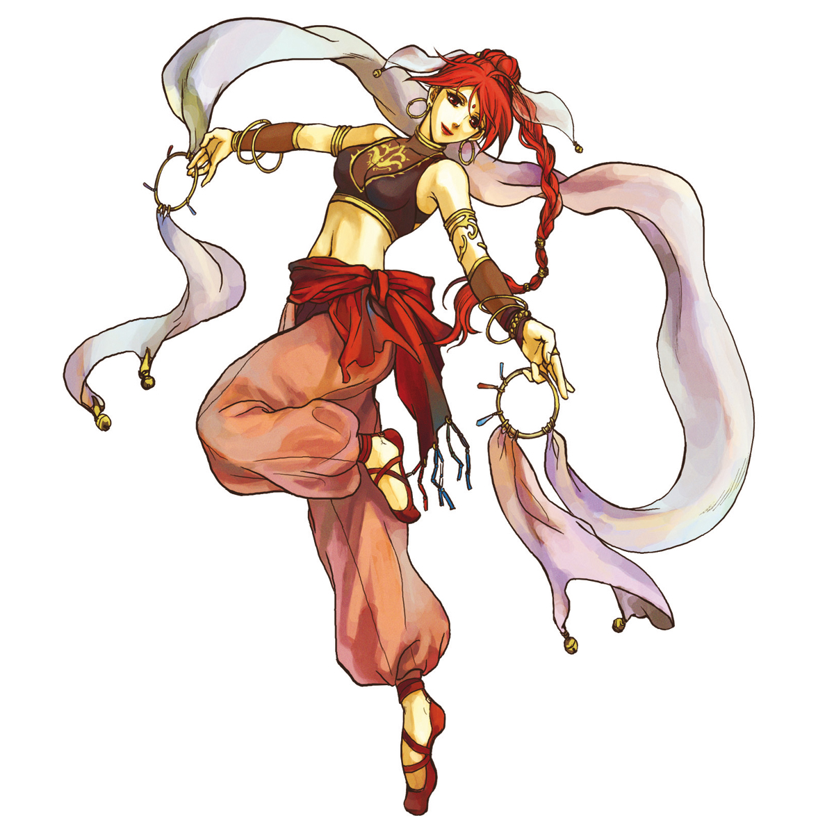 Tethys Cosplay Costume from Fire Emblem The Sacred Stones