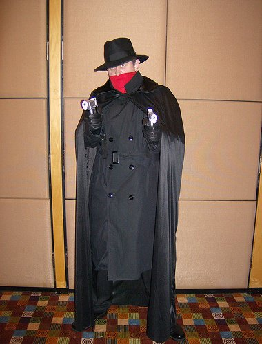 The Shadow Cosplay Costume from DC Comic