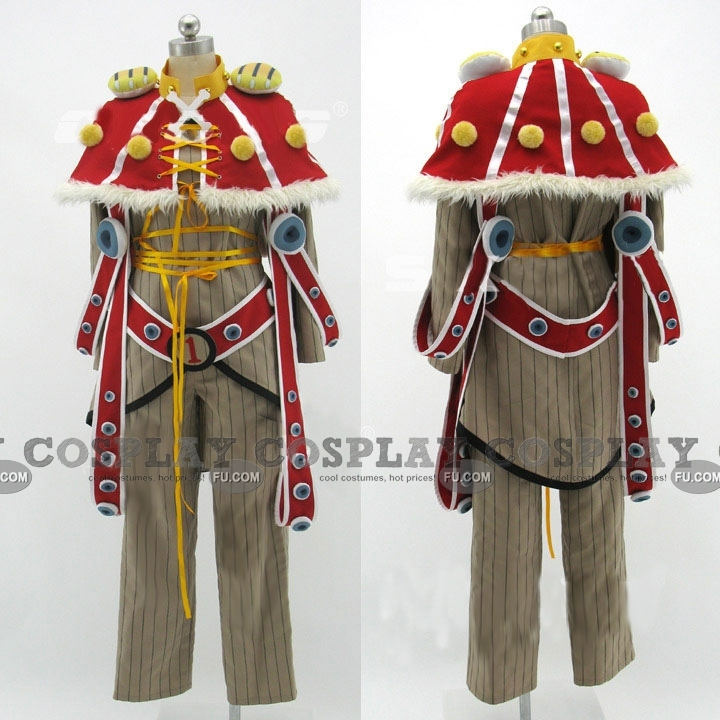Thousand Sunny Cosplay Costume from One Piece