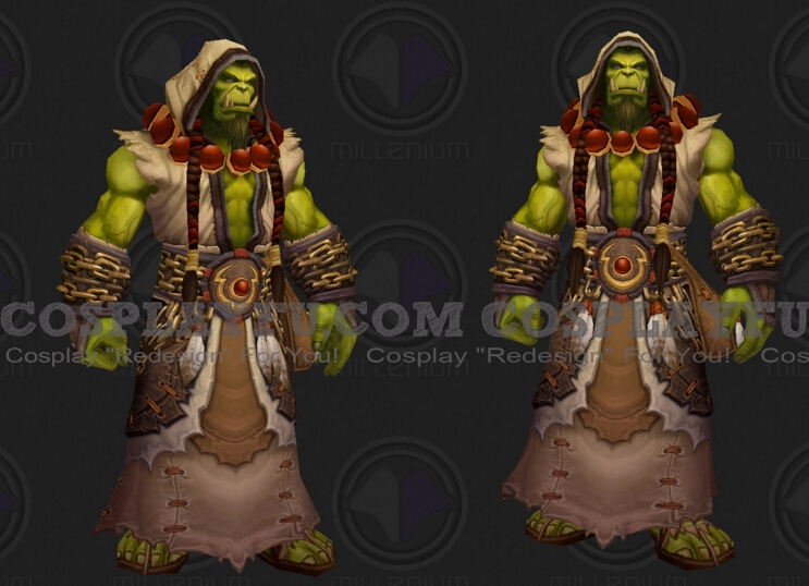 Thrall Cosplay Costume from World of Warcraft