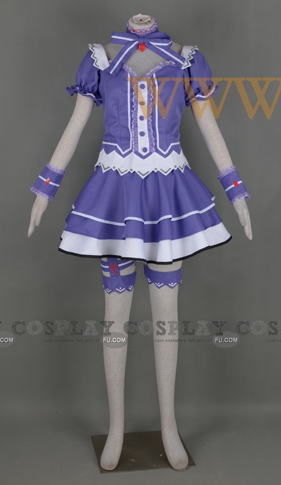 Tiara Cosplay Costume from Fairy Fencer F