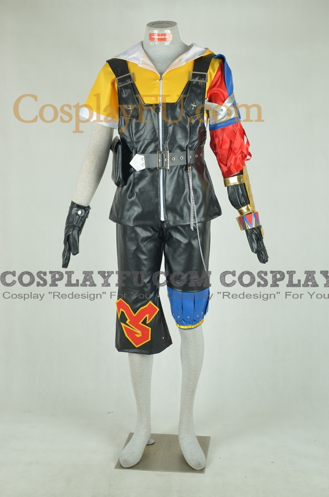 Tidus Cosplay Costume from Final Fantasy