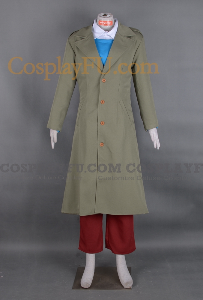 Custom Tintin Cosplay Costume From The Adventures Of
