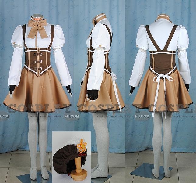 Tomoe Cosplay Costume from Puella Magi Madoka Magica