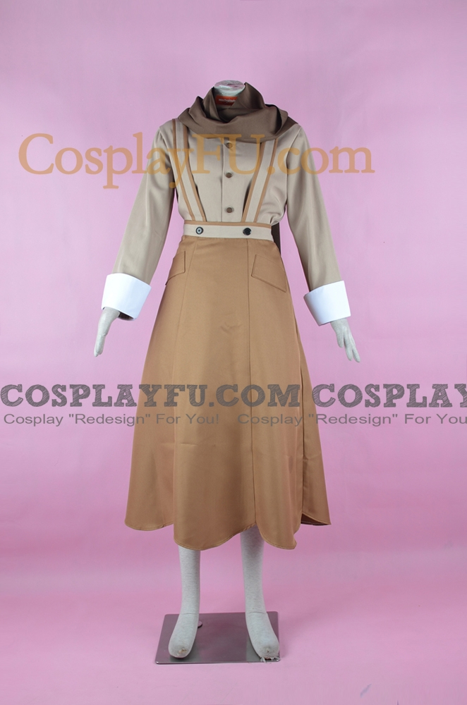 Tomoshibi Cosplay Costume from Wadanohara and the great blue sea