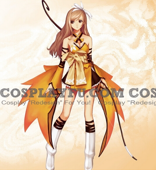 Touka Cosplay Costume from Shining Wind