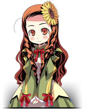 Trading Staff Cosplay Costume from Etrian Odyssey 2 Untold The Fafnir Knight