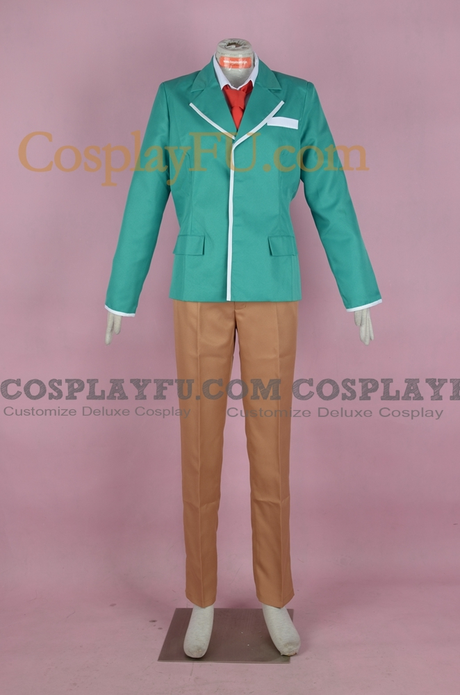 Tsukune Cosplay Costume from Rosario Vampire
