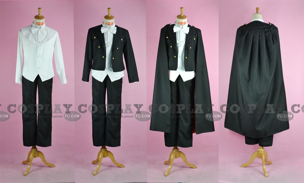 Tuxedo Mask Cosplay Costume from Sailor Moon