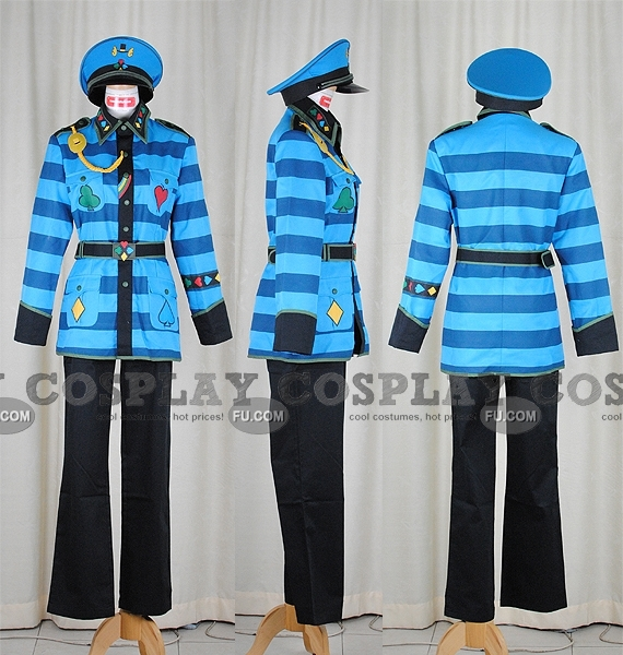 Tweedle Dee Cosplay Costume from Alice in the Country of Hearts