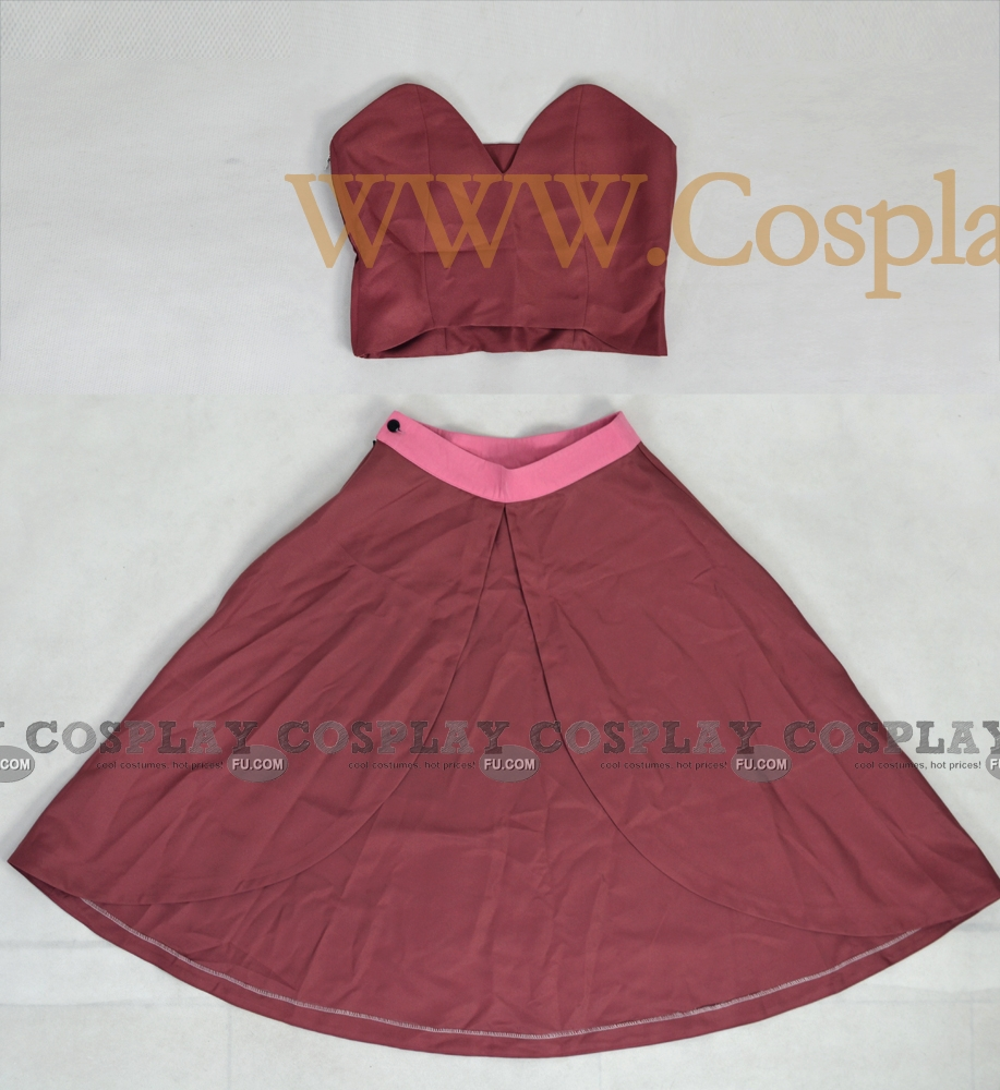 Ty Lee Cosplay Costume (2nd) from Avatar The Last Airbender