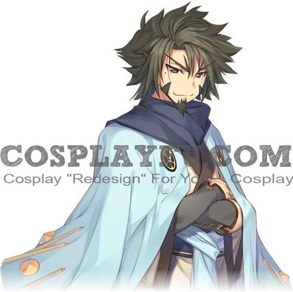 Ukon Cosplay Costume from Utawarerumono Itsuwari no Kamen