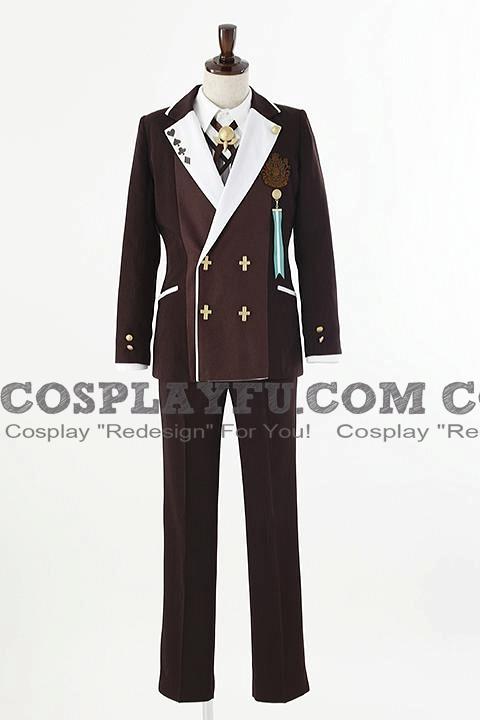Ukyo Cosplay Costume from Amnesia World