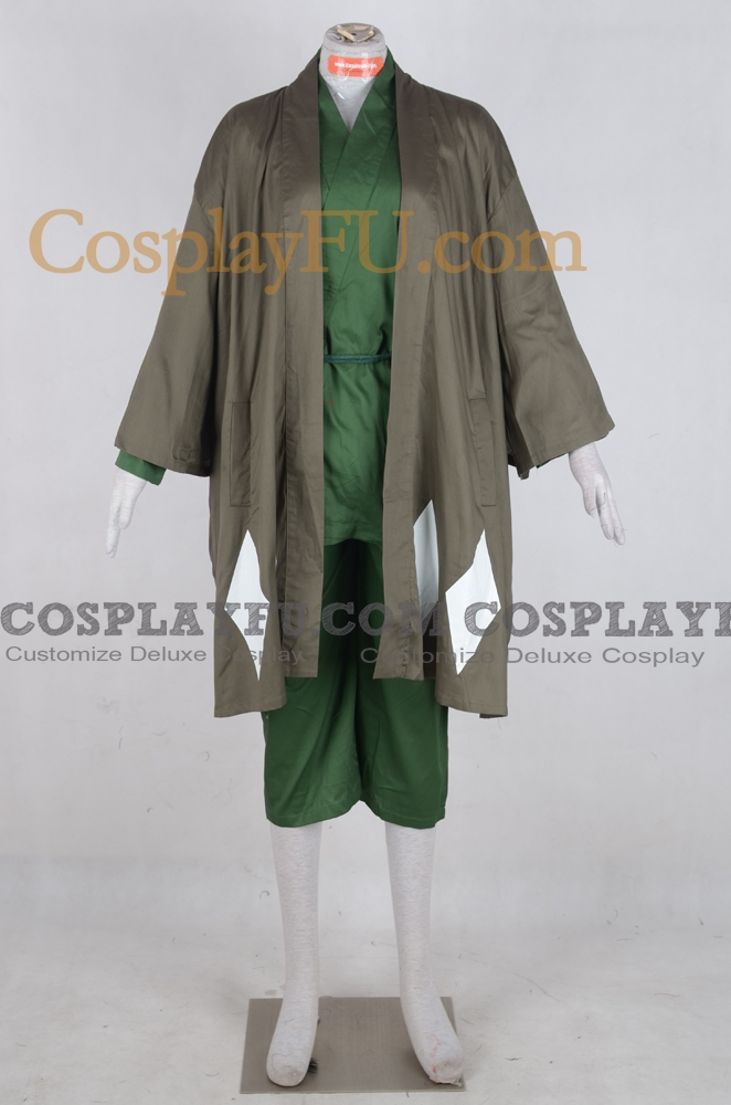 Urahara Cosplay Costume (009-C27) from Bleach