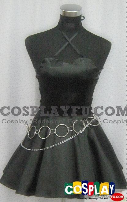 Utau Cosplay Costume (Black Dress) from Shugo Chara!