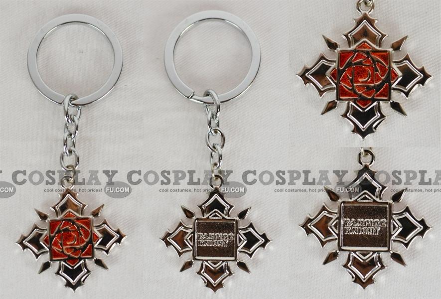 Vampire Knight Accessory (Rose Key Ring) from Vampire Knight