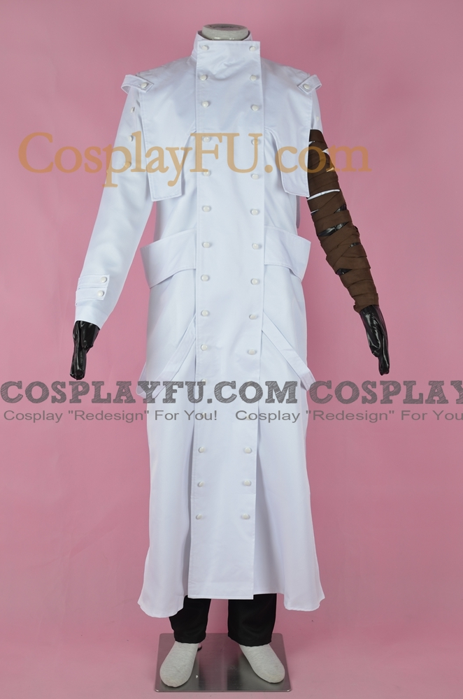 Vash Cosplay Costume (White Version) from Trigun