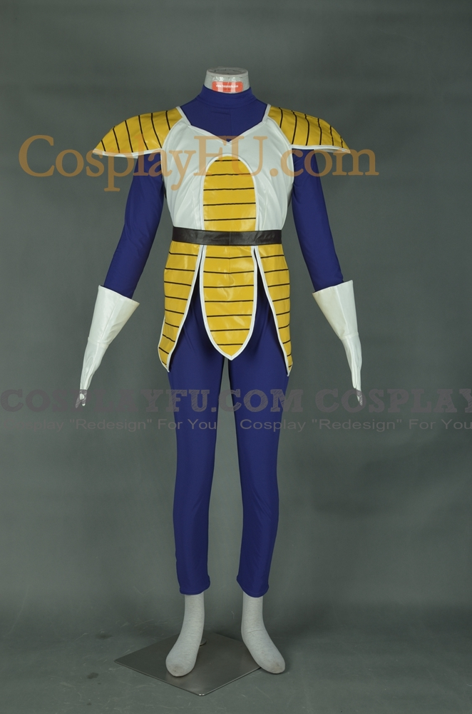 Vegeta (Female) Cosplay Costume from Dragon Ball Z