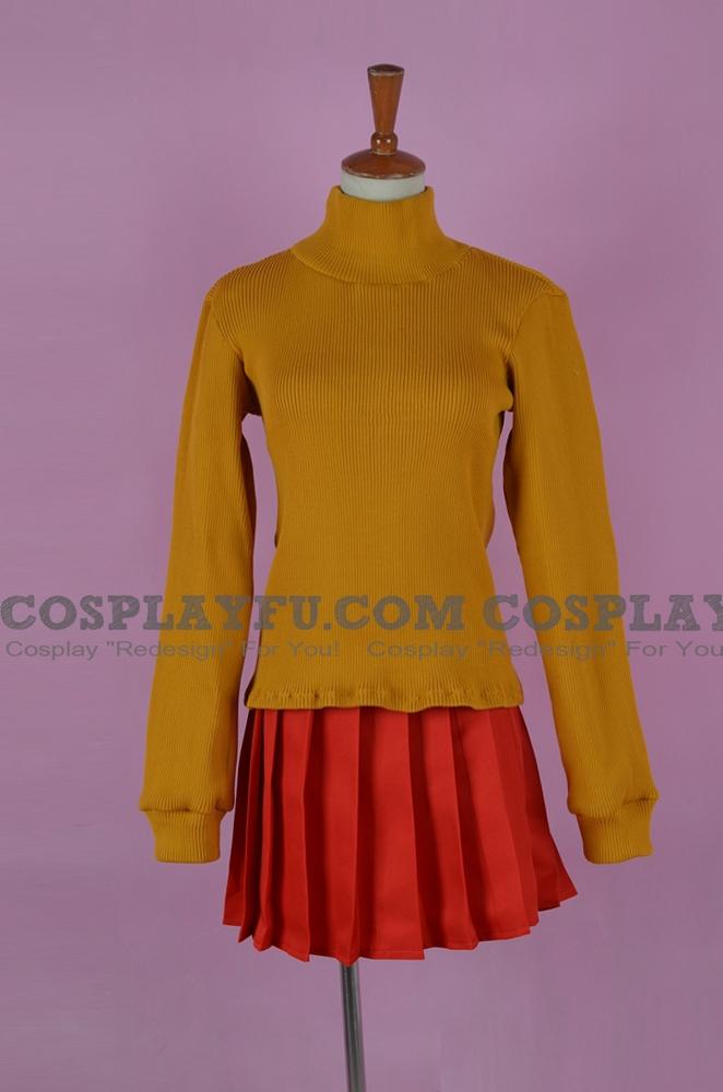 Velma Cosplay Costume from Aloha Scooby Doo