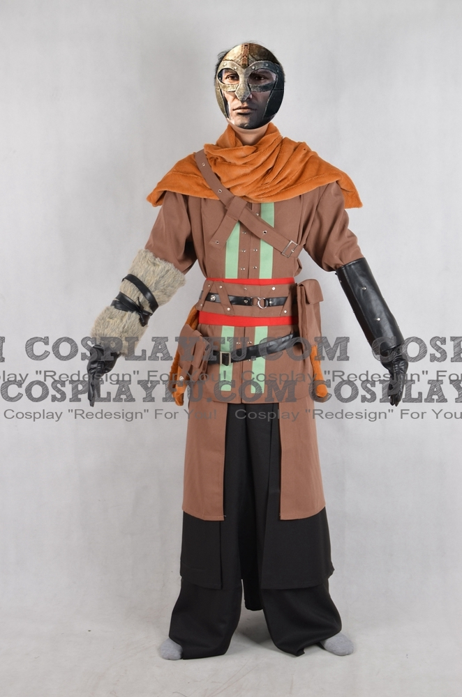 Viking Cosplay Costume from Assassins Creed Rogue
