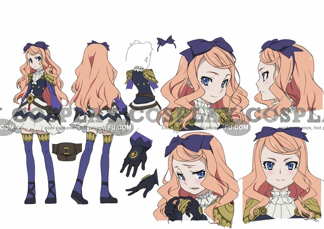 Vivi Cosplay Costume from Chaika - The Coffin Princess